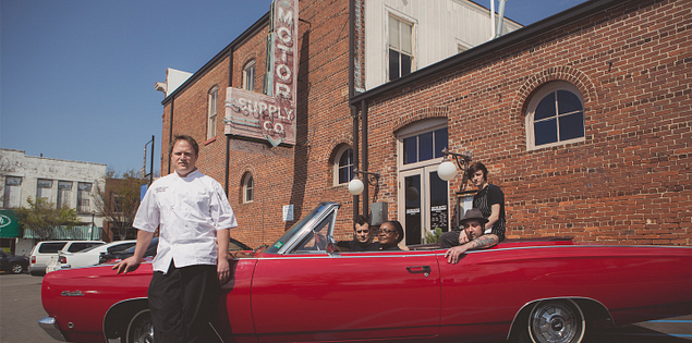 Chef Wesley Fulmer of Motor Supply Co. in Columbia, South Carolina