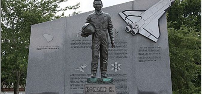 Photo of the Ronald E. McNair Memorial.