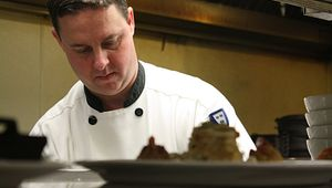 Chef Cooper Thomas of Victor's Bistro