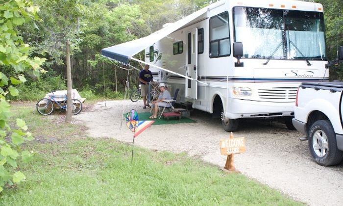 The Campground & Cottages At James Island County Park