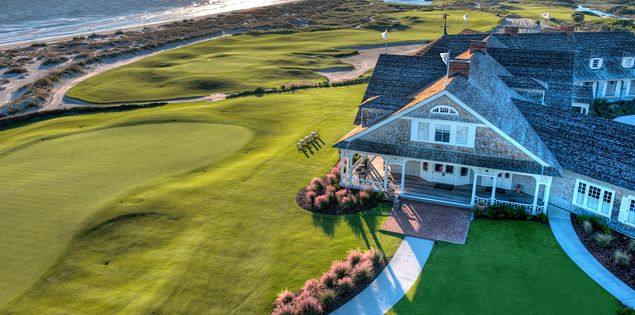 The clubhouse at Kiawah Island's Ocean Course