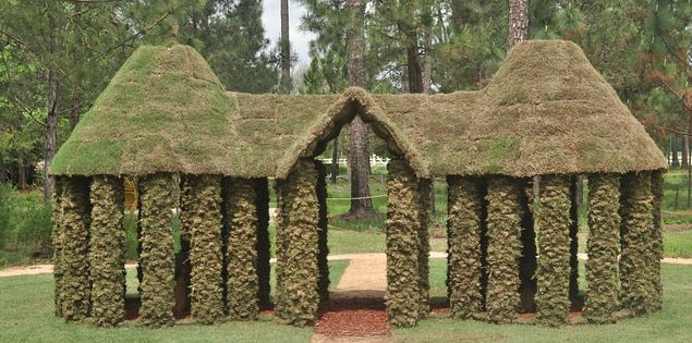 House of sod at South Carolina's ArtFields