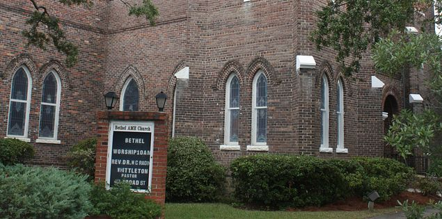 Exterior of Bethel AME Church in Georgetown