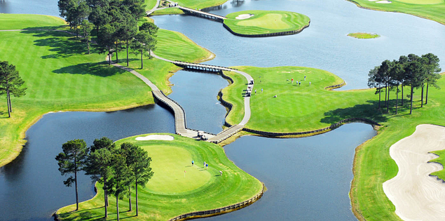 Myrtle Beach's Man O' War golf course in the Lowcountry