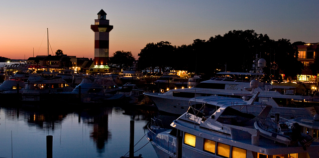Harbour Town Marina in South Carolina