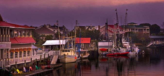 There are many fun things to do in Shem Creek, SC!