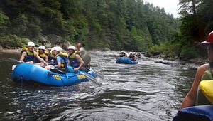 Rafting the Chattooga