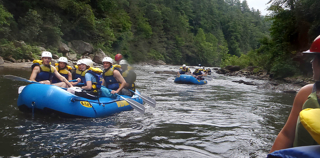 South Carolina's Chattooga River is a National Wild and Scenic River