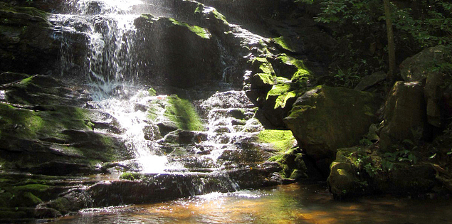 Reedy Branch Falls in South Carolina's Oconee County