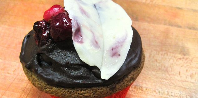 South Carolina cupcake from Barbara Whitley's Crady's Restaurant in Conway