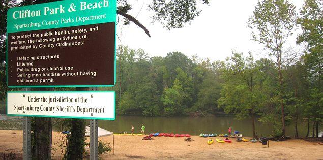Clifton Park and Beach in South Carolina