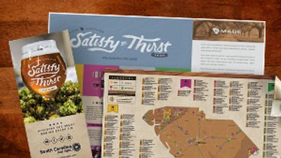 Satisfy Your Thirst Tour Map