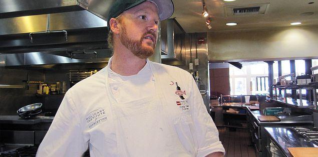 Craig Deihl in the kitchen at Cypress