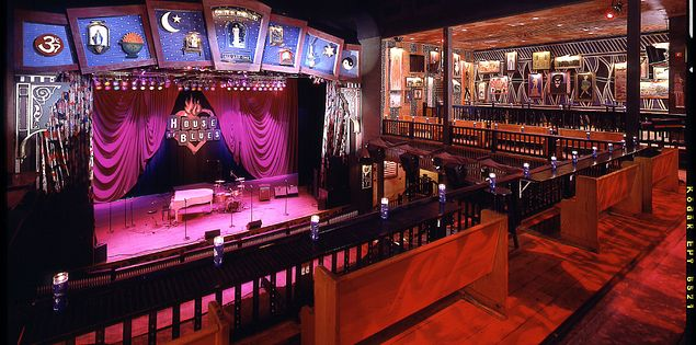 The House of Blues concert Hall in Myrtle Beach.