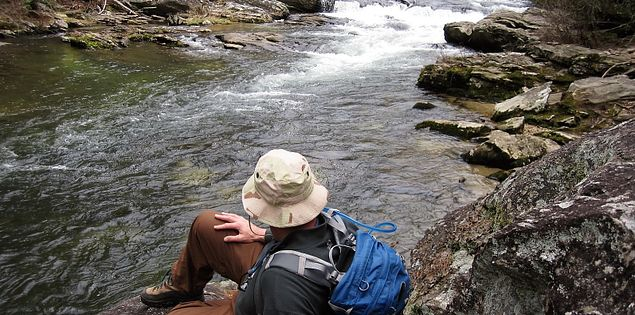 Scenic Chattooga River Fly Fishing