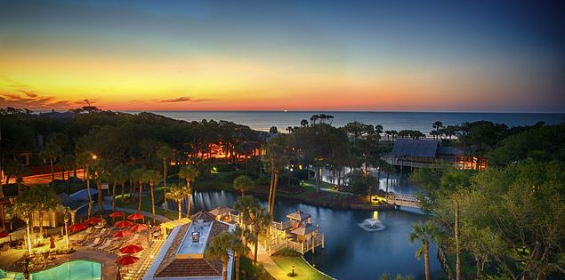 Choose from several oceanfront resorts on Hilton Head Island on your next family vacation.