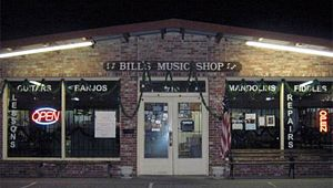 Bill's Music Shop and Pickin' Parlor
