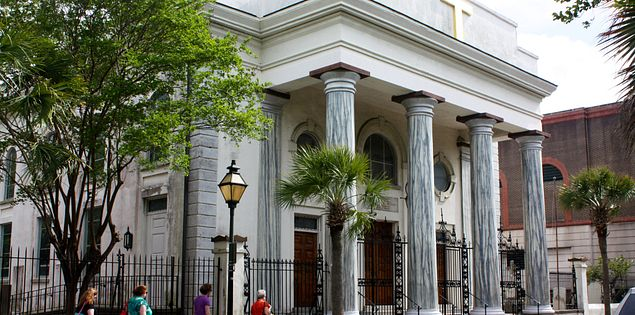 South Carolina's First Baptist Church in Charleston