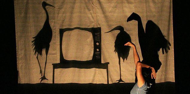 South Carolina puppet theater artist Kimi Maeda