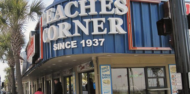 Peaches Corner in Myrtle Beach, South Carolina
