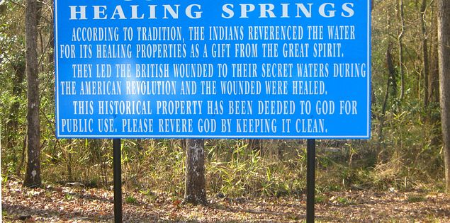 gods acre healing springs