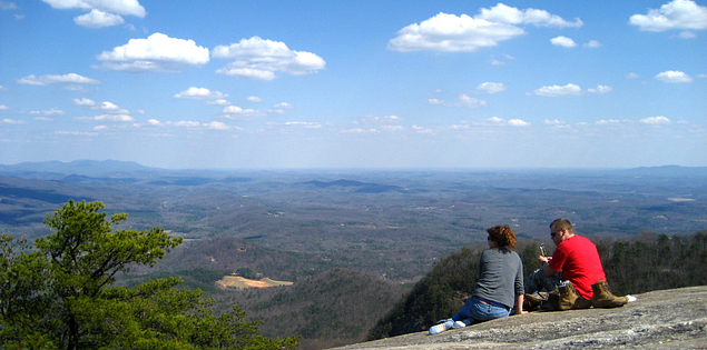 View from Table Rock Mountain