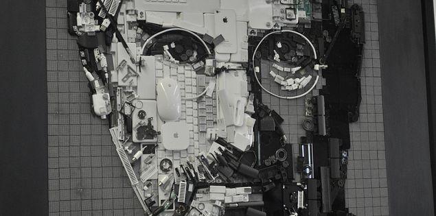 "Kirkland Smith's ""Steve Jobs"" at South Carolina's ArtFields"
