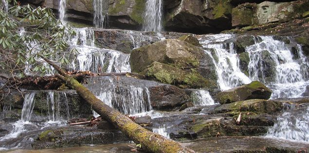 Discover Virginia Hawkins Falls in Upstate South Carolina.