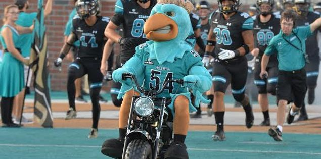 football tailgating coastal carolina