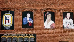 Lancaster's Wall Of Fame