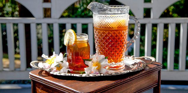 Enjoy a refreshing glass of sweet tea in Summerville, South Carolina!