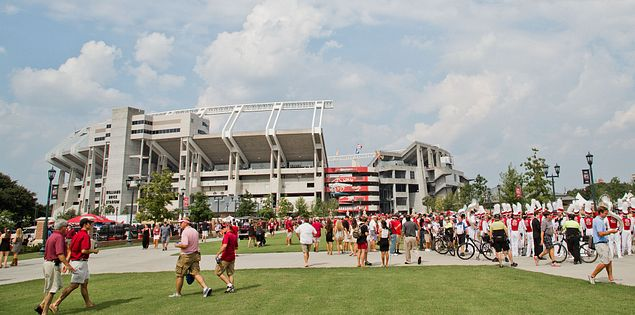 William-Brice Stadium tailgate