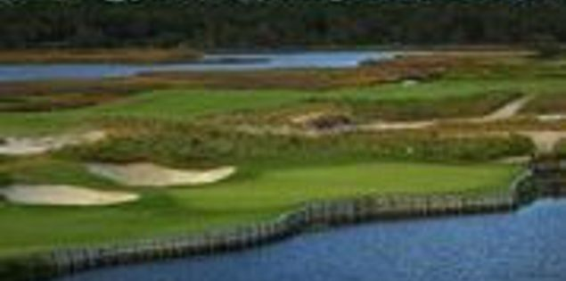 Kiawah Golf Resort's par-3 17th hole at the Ocean Course
