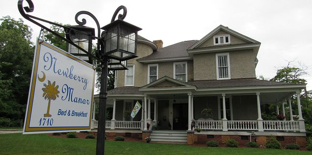 bed and breakfast newberry manor