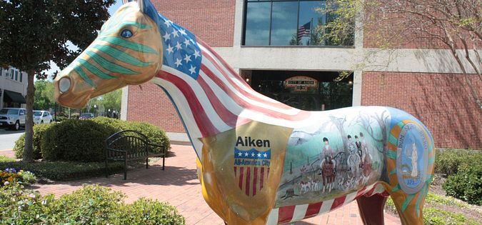 Check out historic and beautiful downtown Aiken, SC.