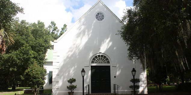 Charleston's Old St. Andrew's Parish Church in South Carolina
