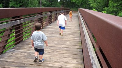 Bring the Family to Greenville - And Don't Forget Your Walking Shoes