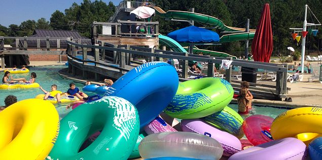 There are plenty of water parks in South Carolina.