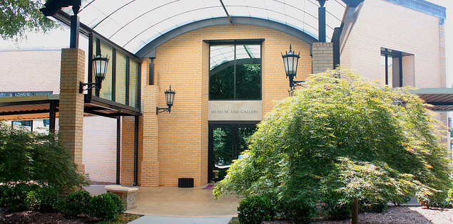 Bob Jones University's Museum and Gallery in Greenville, South Carolina