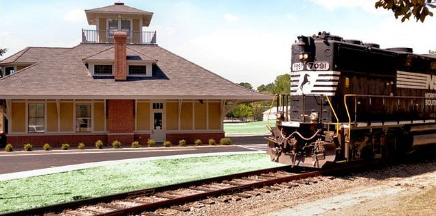 The Train Museum and Visitor Center in Aiken, SC.
