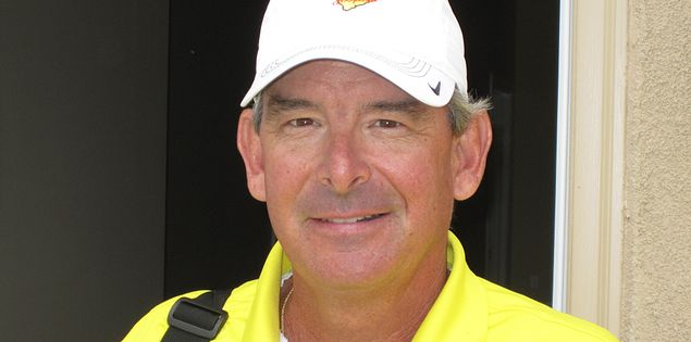 Golf instructor Hugh Royer III in the Myrtle Beach area