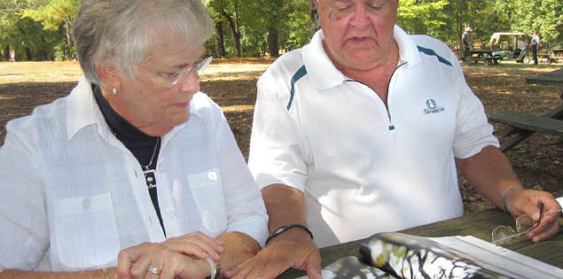 Don and Sue Weigel traveling in South Carolina