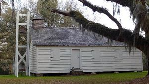 Slave Houses & Chapel - Mansfield Plantation B&B