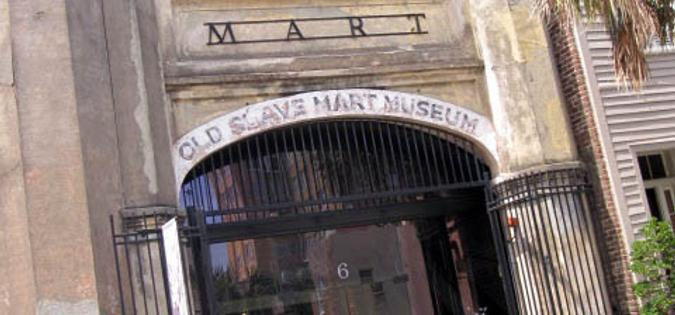Charleston's Old Slave Mart Museum in South Carolina