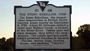 Stono River Slave Rebellion Site