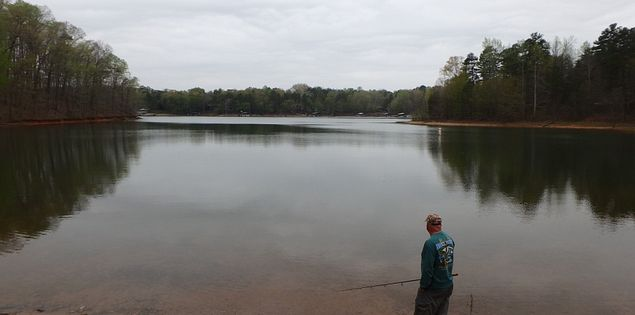 Lake Hartwell State Park Fishing