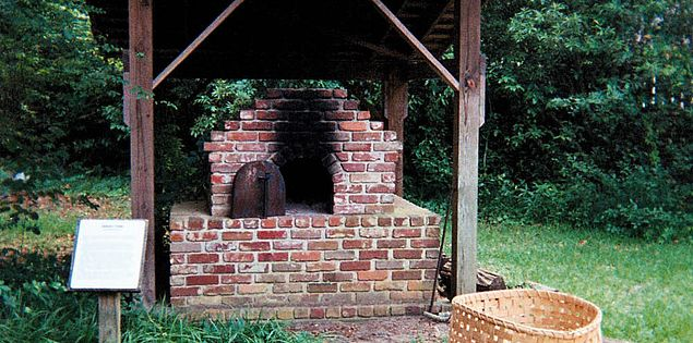 Oven at the Sumter County Museum in South Carolina