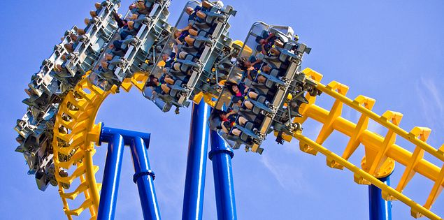 Thrill seekers flock to Carowinds in Fort Mill, South Carolina!