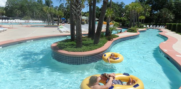 Check out the water parks in Myrtle Beach during your vacation in South Carolina!