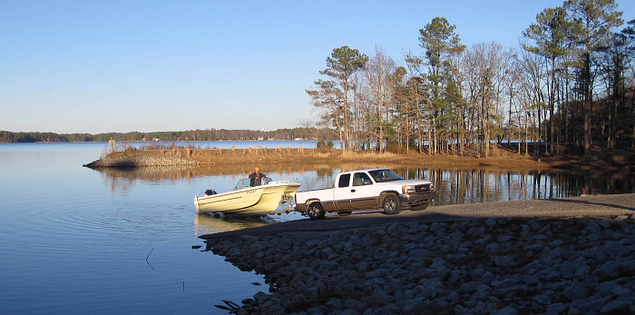 Lake Murray in Dreher Island State Recreation Area